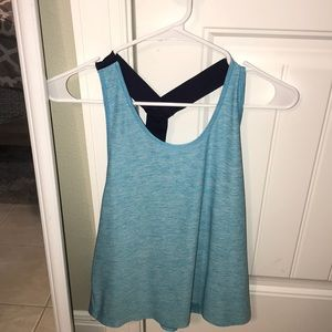 Light blue Under Armour Tank